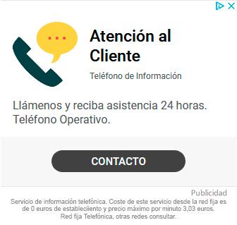 telefono atencion al cliente